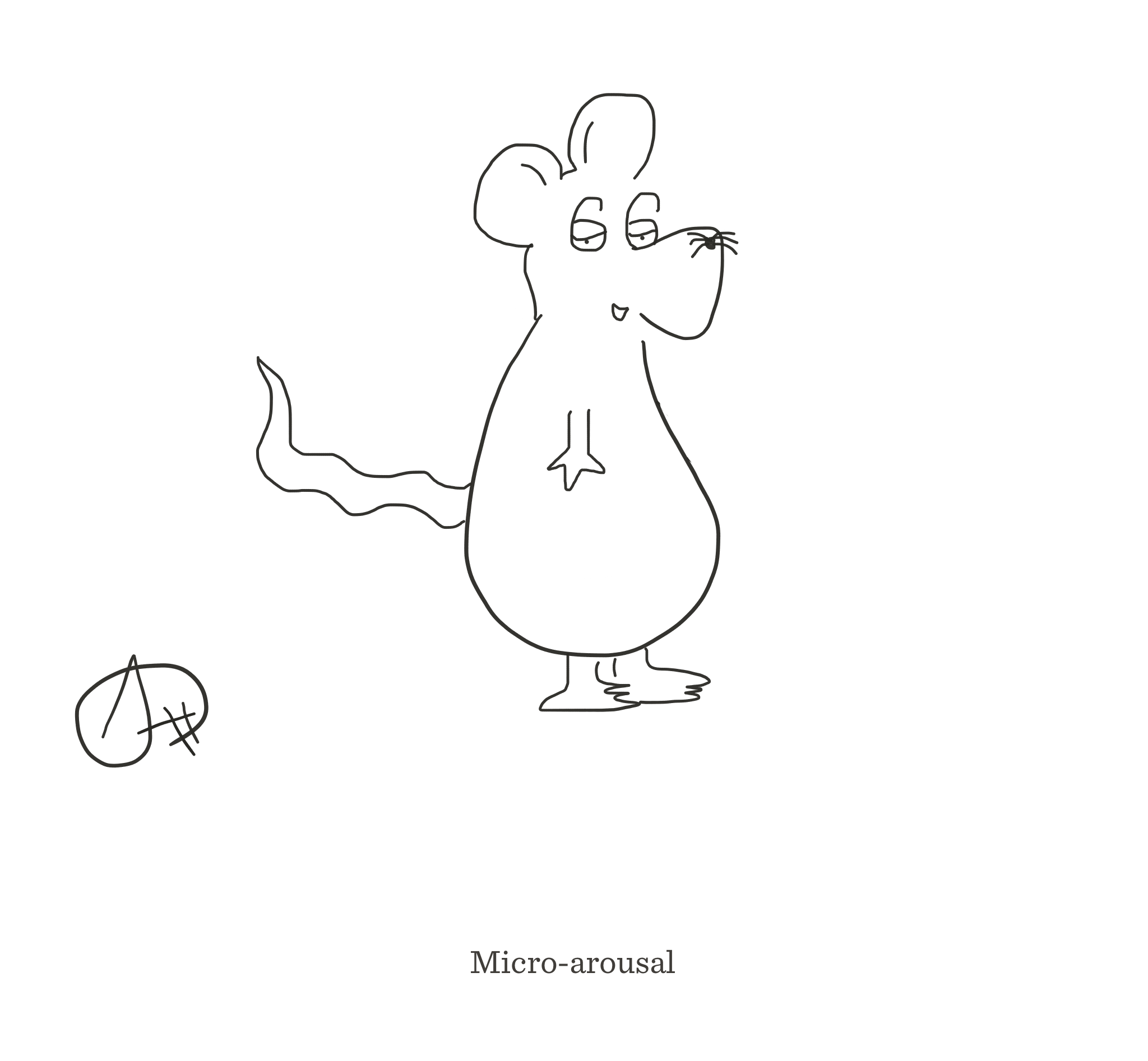 Micro-arousal, The Happy Rat cartoon