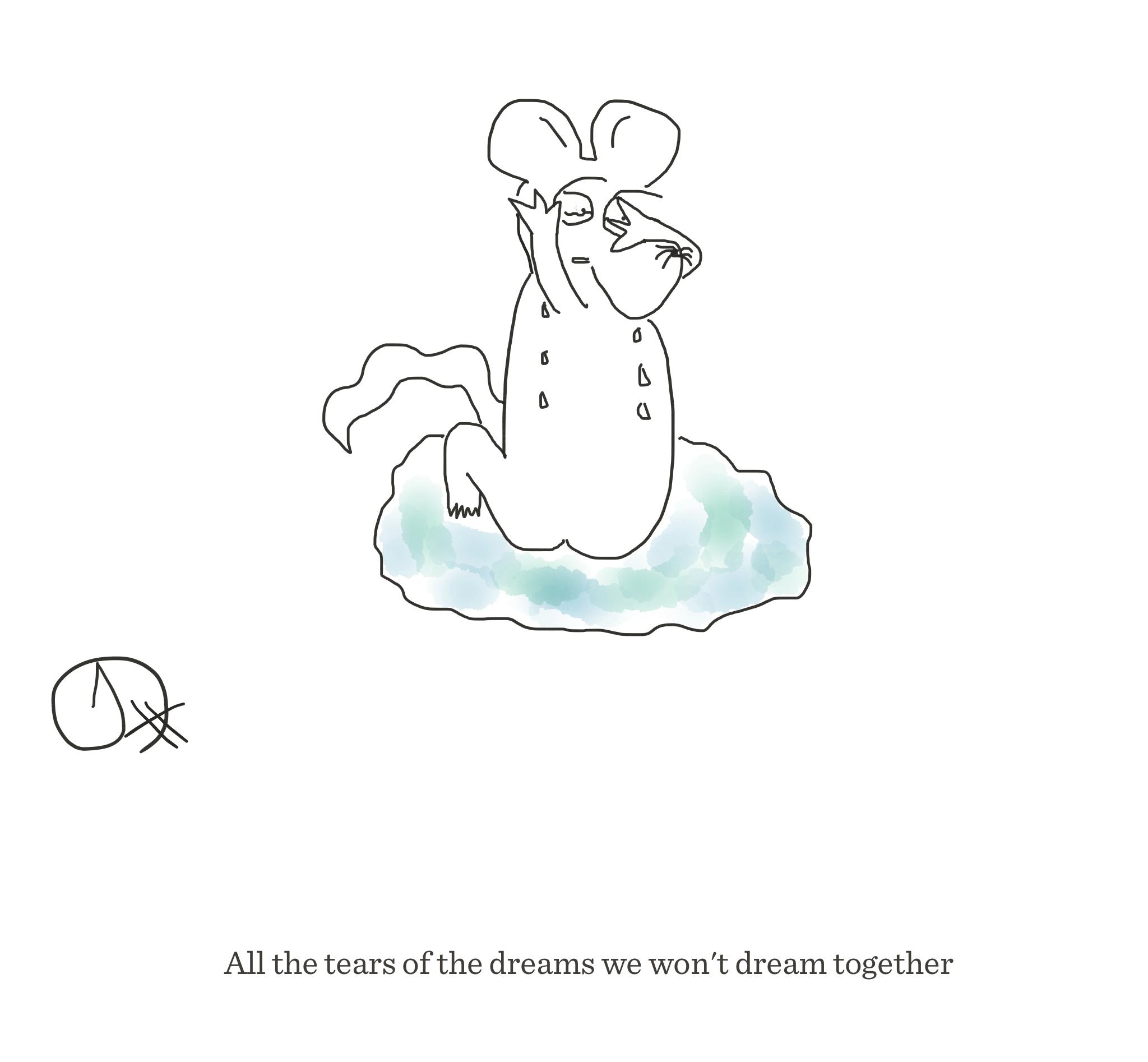 Dreams we won't dream together, The Happy Rat cartoon