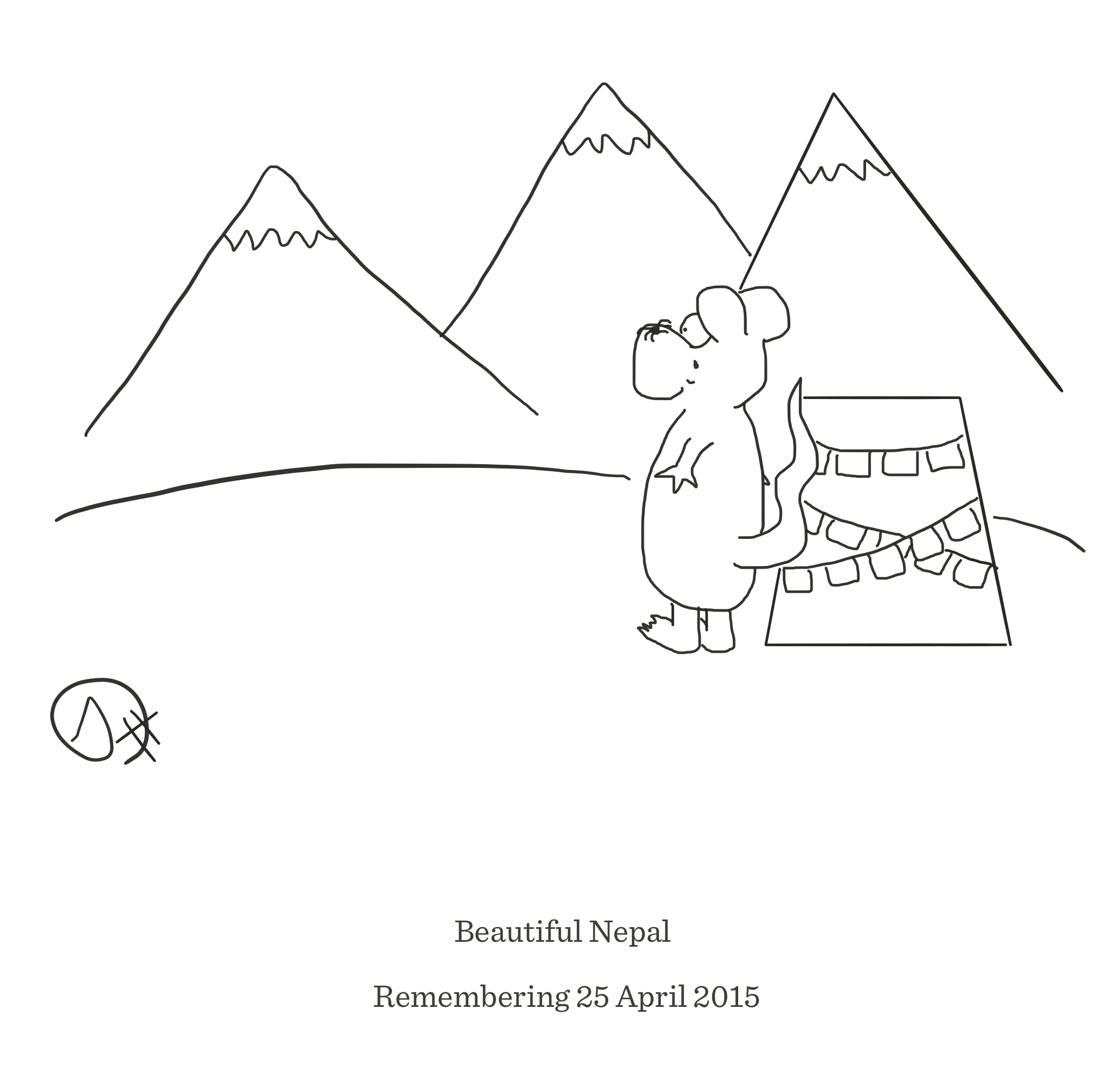 Remembering Nepal, The Happy Rat, Sarah Hunt